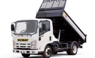 Location camion benne 3.5 T avec chauffeur.
