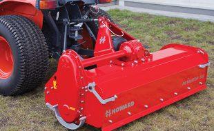 Location micro tracteur 26 cv avec rotavator et chauffeur.
