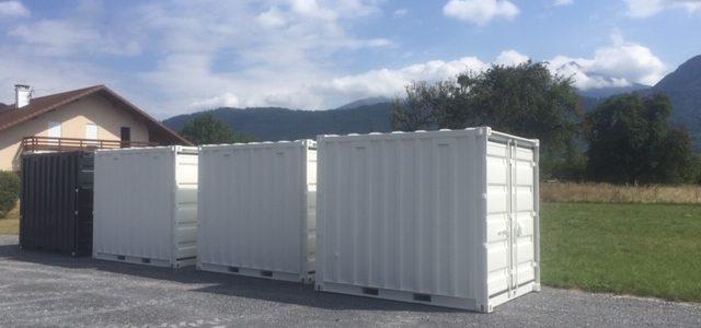 Vente de container Sallanches Bonneville Annecy Evian Cluses