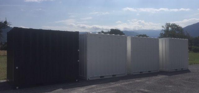 Vente container de stockage Bonneville Cluses Sallanches Annemasse Thonon les Bains Evian Morzine