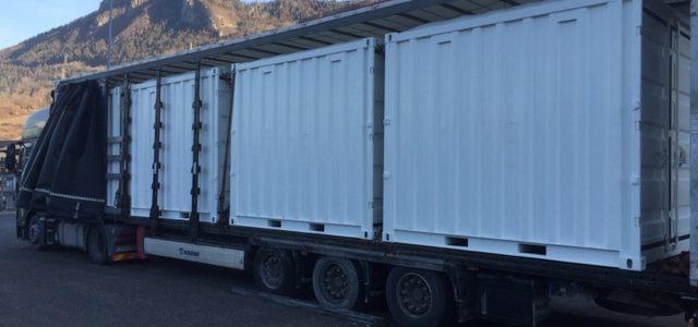Containers de Chantier / Stockage à la Vente sur le département de la Savoie et Haute-Savoie