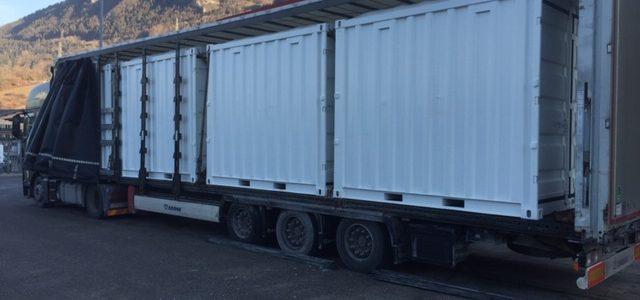 Location et Vente de Conteneurs de chantier / Stockage en Savoie et Haute- Savoie