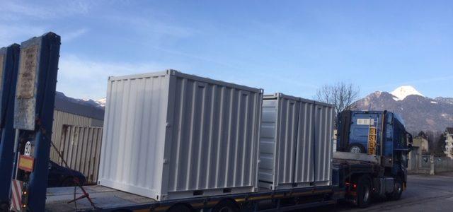 Livraison de containers 10 pieds Annecy