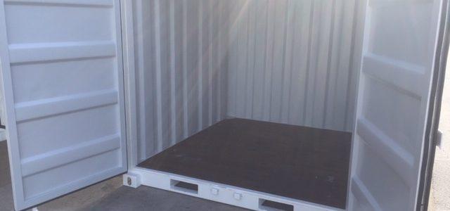 Container 8 pieds avec plancher bois Type HB 25