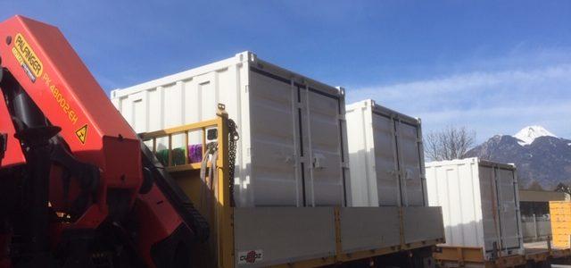Livraison de Container de stockage département de la Savoie