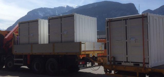 Container / conteneur de stockage Albertville Dépt 73.